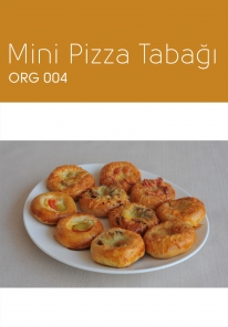 ORG 004 Mini Pizza Tabağı